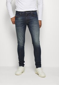Diesel - D-STRUKT - Jean slim - dark-blue denim - 0