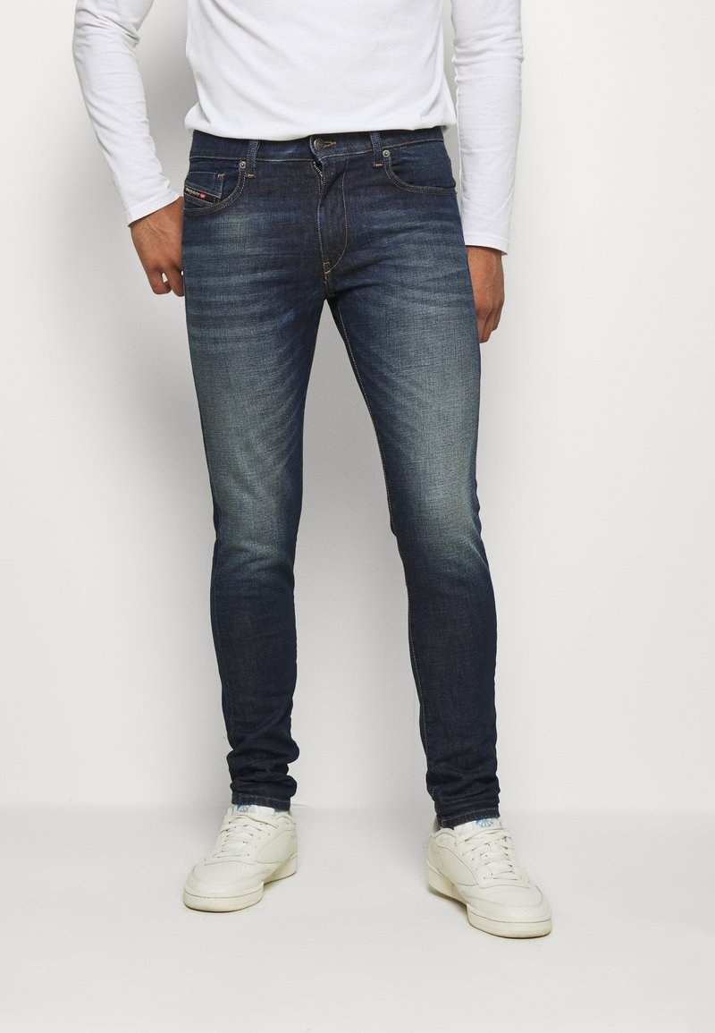 Diesel - D-STRUKT - Jean slim - dark-blue denim