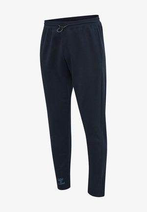 Tracksuit bottoms - dark sapphire blue coral