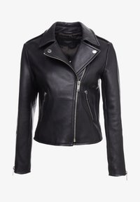 WEEKEND MaxMara - UNICUM - Leather jacket - schwarz - 4