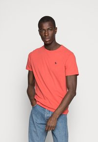 Abercrombie & Fitch - 3 PACK - T-shirt basic - red - 4
