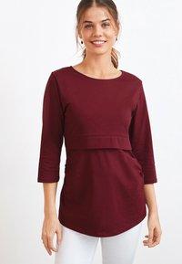 Next - BLEND NURSING - Bluzka z długim rękawem - red - 0
