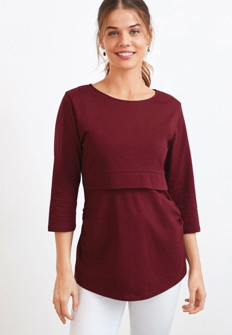 Next - BLEND NURSING - Bluzka z długim rękawem - red