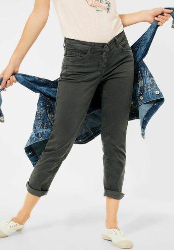 SLIM FIT  - Slim fit jeans - grün