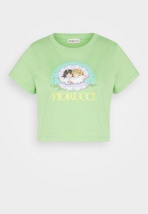 VENUS ANGELS - T-shirt z nadrukiem - green