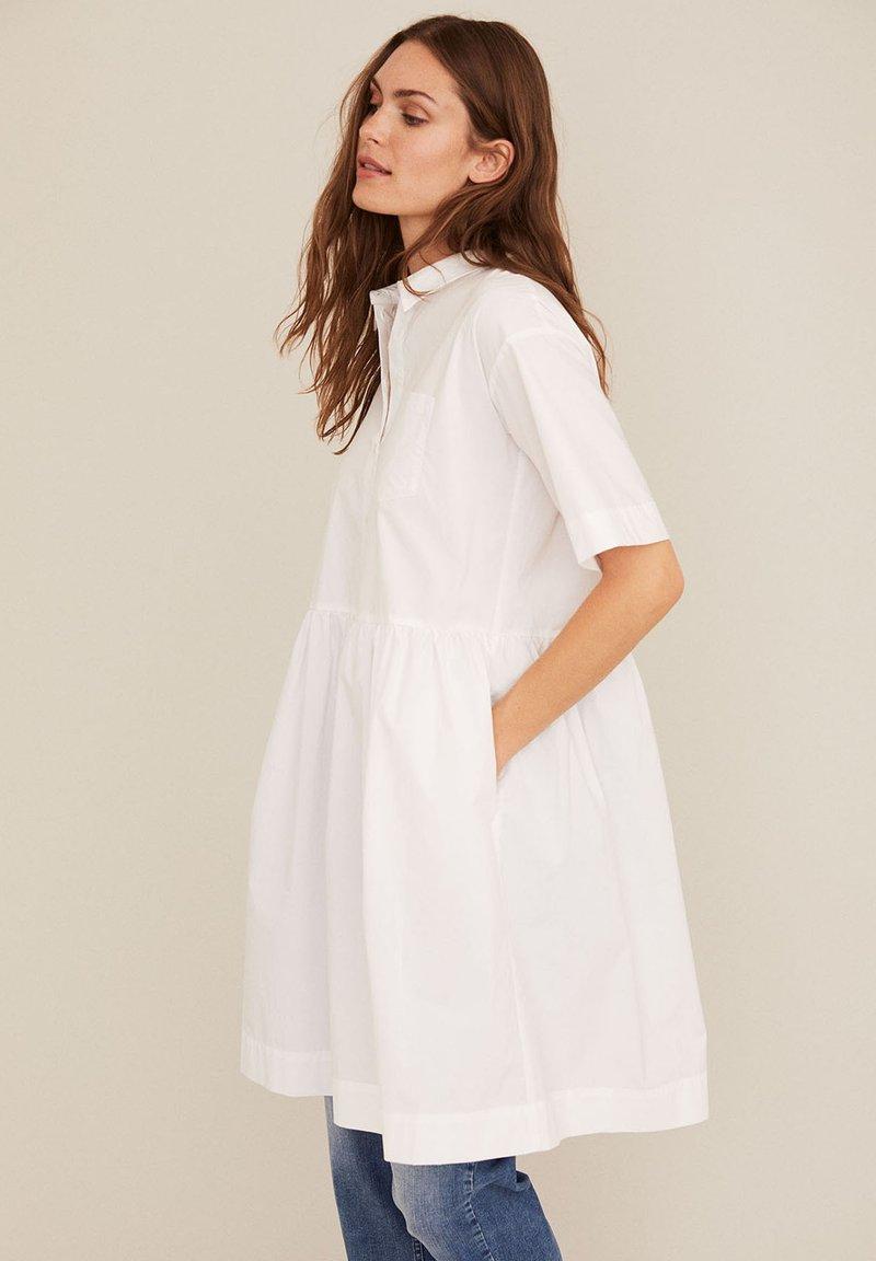Part Two - Shirt dress - bright white