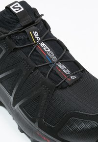 Salomon - SPEEDCROSS 4 - Vaelluskengät - black/black metallic - 5