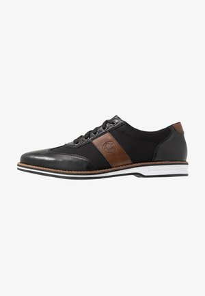 Zapatos de vestir - schwarz/mogano