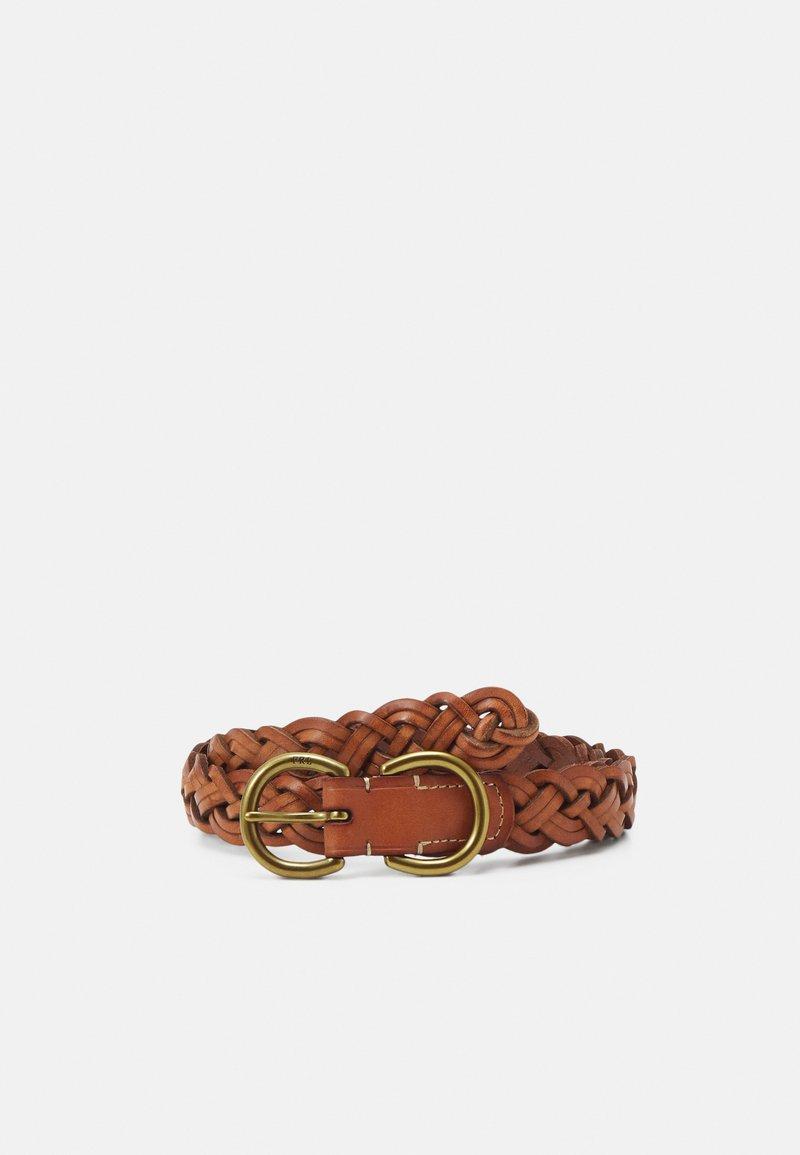 Polo Ralph Lauren - SMOOTH VACHETTA - Belt - brown