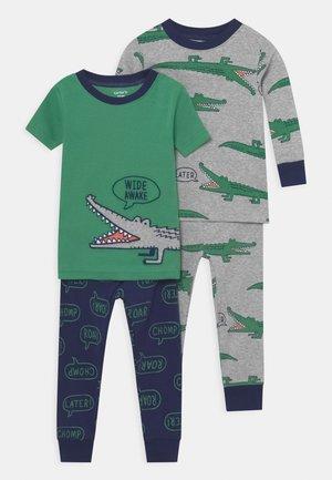 GATOR 2 PACK - Pyjama set - green/grey