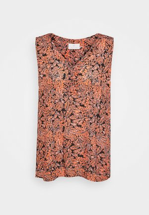 FINOA  - Top - black /coral