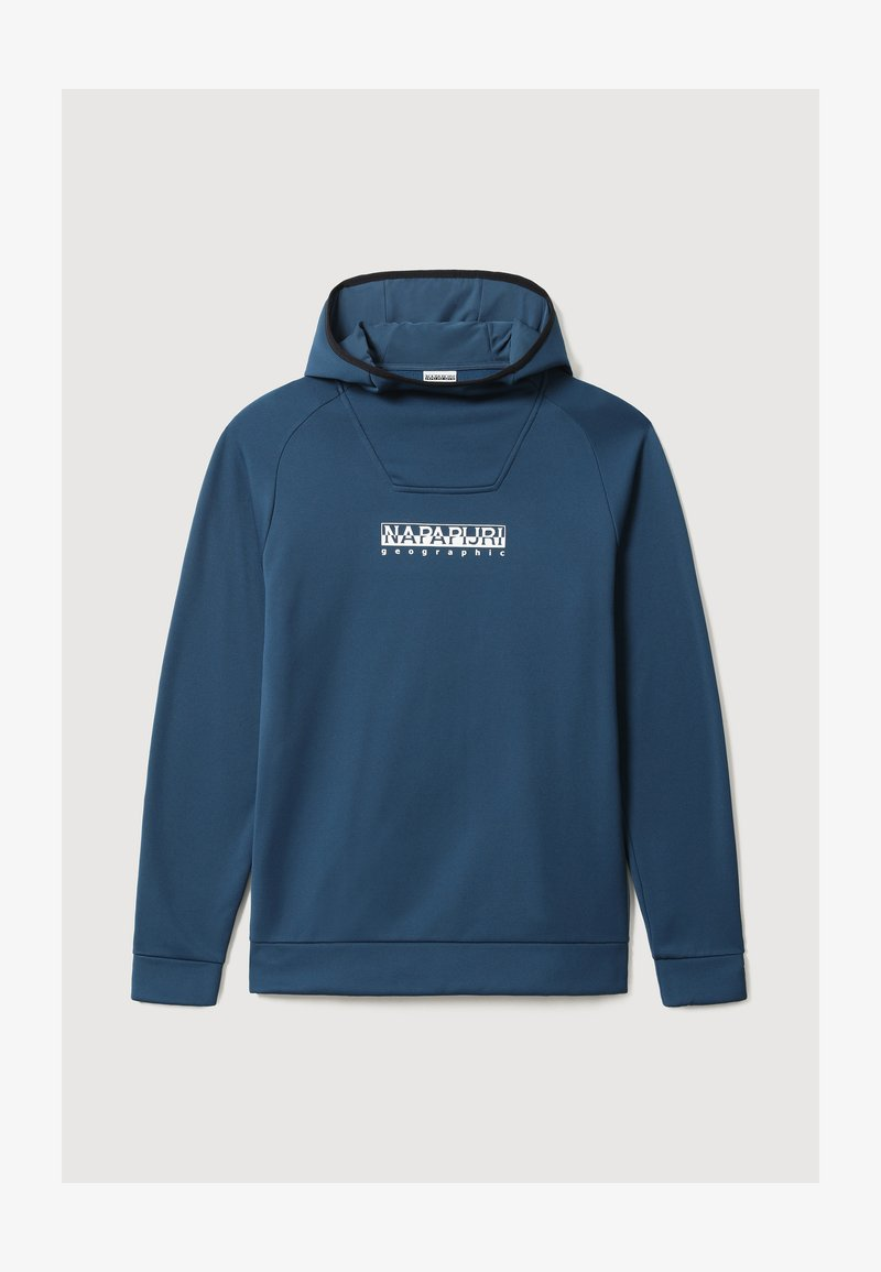 Napapijri - TOLI BOX - Hoodie - blue french