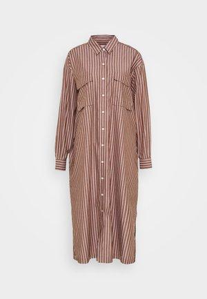 LINA - Košilové šaty - red