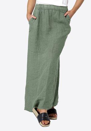 Maxi skirt - dusty army