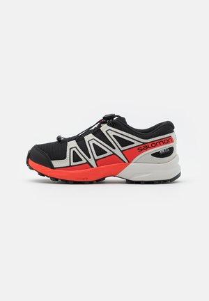 SPEEDCROSS CSWP UNISEX - Hiking shoes - black/lunar rock/cherry tomato