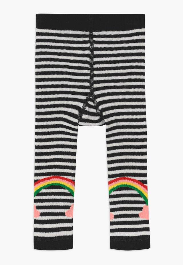 LUCKY RAINBOW - Legíny - white/black