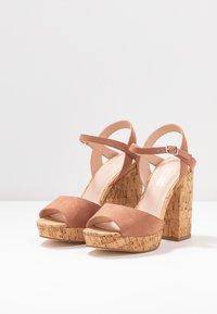 Madden Girl - CARRY - High heeled sandals - caramel - 4