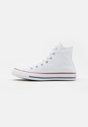 CHUCK TAYLOR ALL STAR WIDE FIT  - Korkeavartiset tennarit - optical white