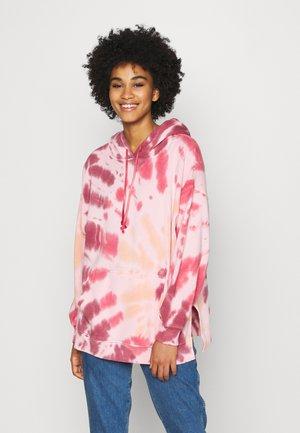 HOODIE WASH - Sweatshirt - burgundy