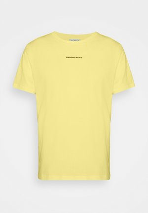 SOLID TEE UNISEX - Basic T-shirt - jaune citron