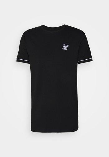 DUALITY GYM TEE - T-shirt - bas - black