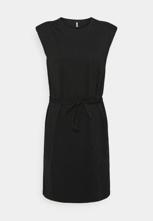 ONLJEN LIFE DRESS - Jerseykjole - black