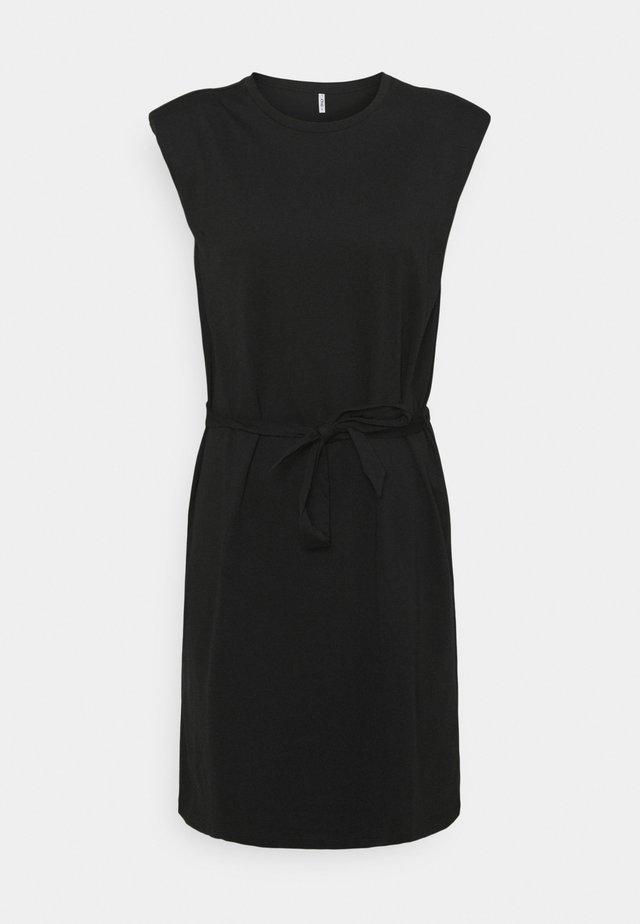 ONLJEN LIFE DRESS - Sukienka z dżerseju - black