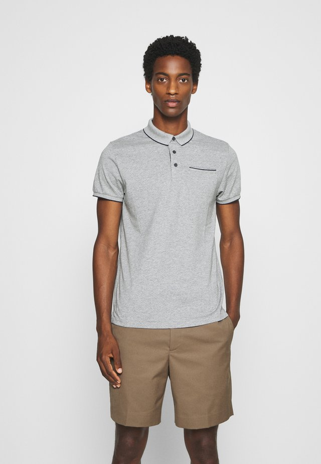 POCKET - Polo shirt - grey