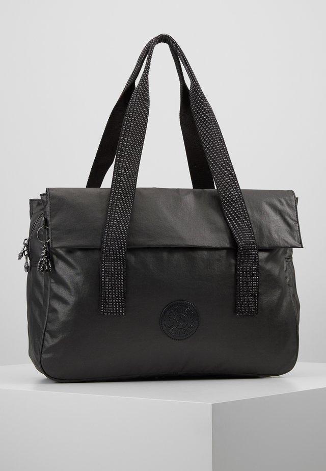 PERLANI - Laptoptas - black metallic