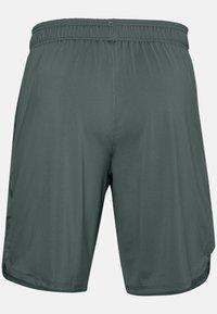 Under Armour - TRAIN STRETCH - Sports shorts - lichen blue - 4