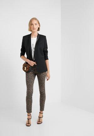 TOOTHPICK IN LEOPARD - Jeans Skinny Fit - dusty khaki