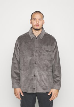 JPRBLUSTANLEY JACKET - Summer jacket - charcoal gray