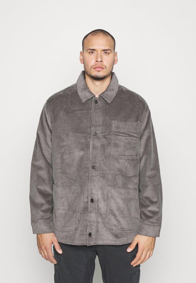 JPRBLUSTANLEY JACKET - Giacca leggera - charcoal gray