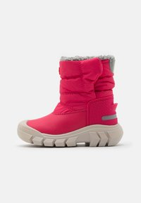 Hunter ORIGINAL - ORIGINAL KIDS BOOTS - Zimní obuv - bright pink - 0