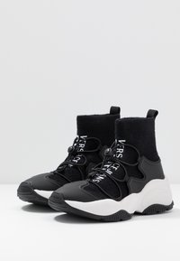 Versace Jeans Couture - High-top trainers - nero - 4