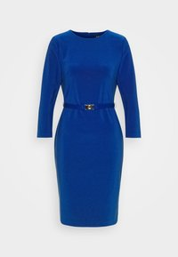 Lauren Ralph Lauren - BONDED DRESS - Shift dress - french ultramarin - 4