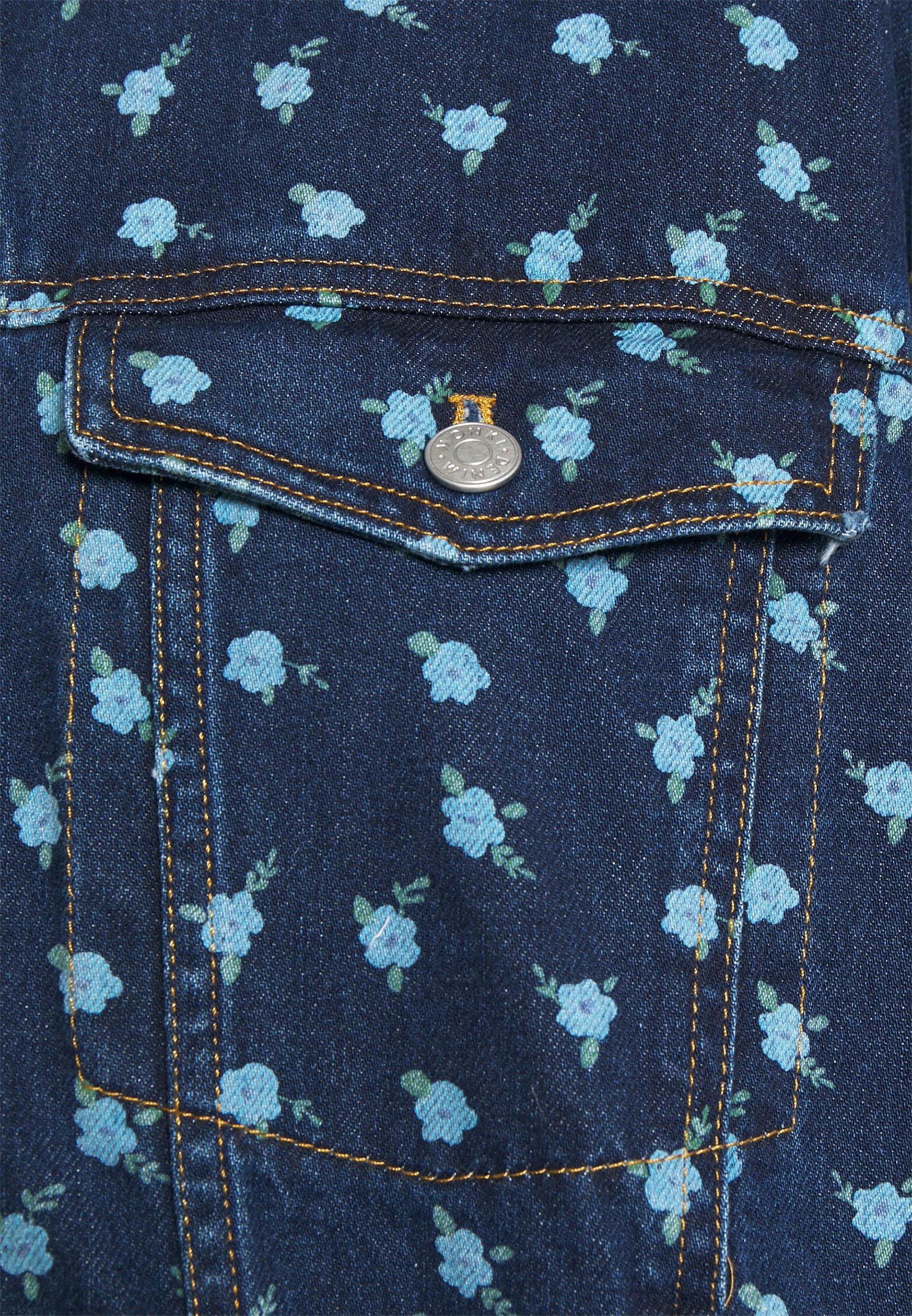 Women Denim jacket - blue medium