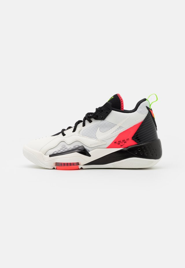 ZOOM '92 - Sneakers hoog - white/flash crimson/black/sail/electric green/volt