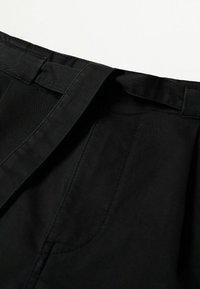Mango - Chinos - black - 6