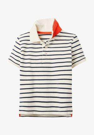 Polo shirt - naturweiß/schuluniform-navy