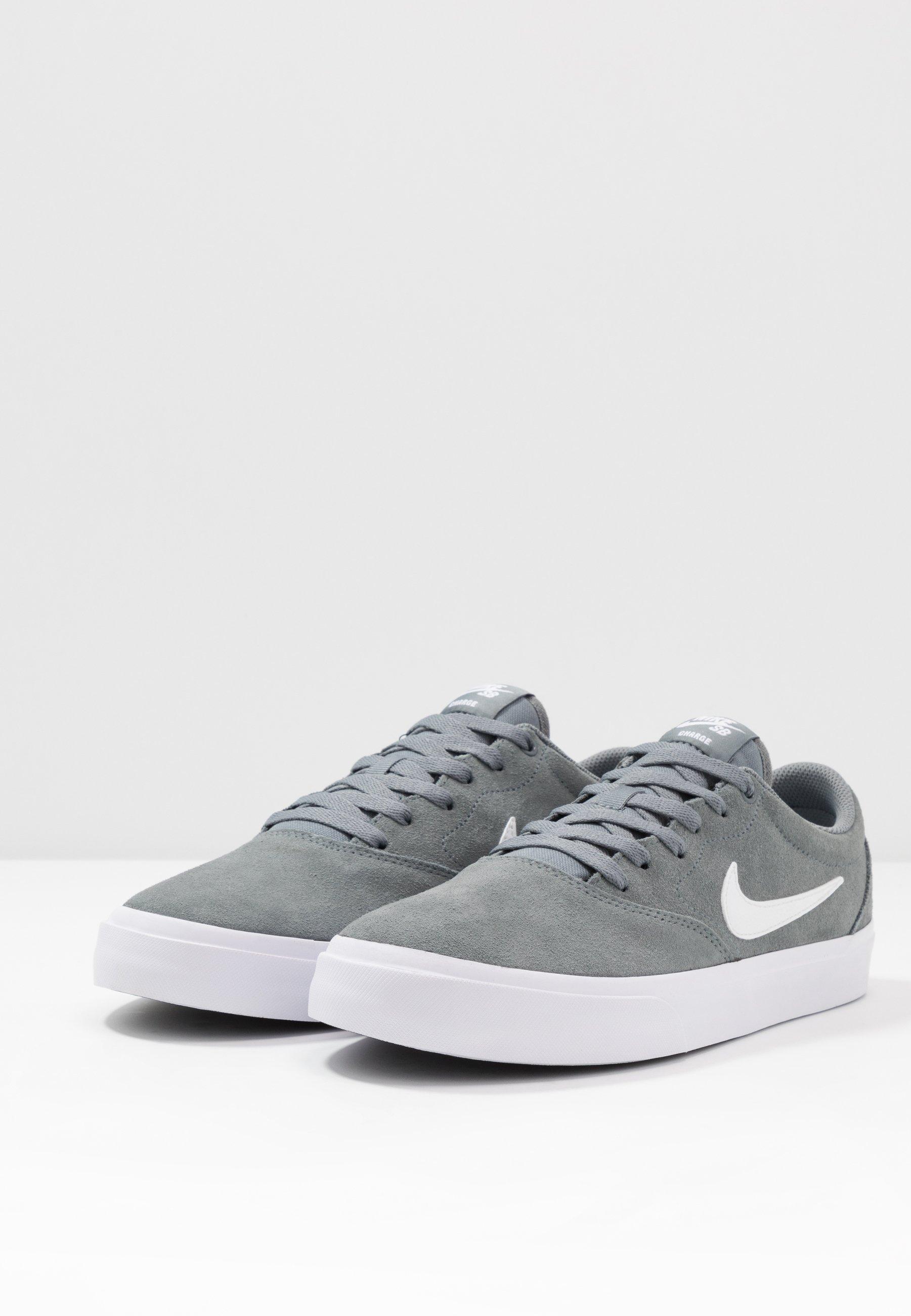 Nike SB CHARGE - Skate shoes - cool grey/white Women's Skate Shoes jyjsX