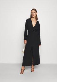 Patrizia Pepe - DRESS - Maxi dress - nero - 1