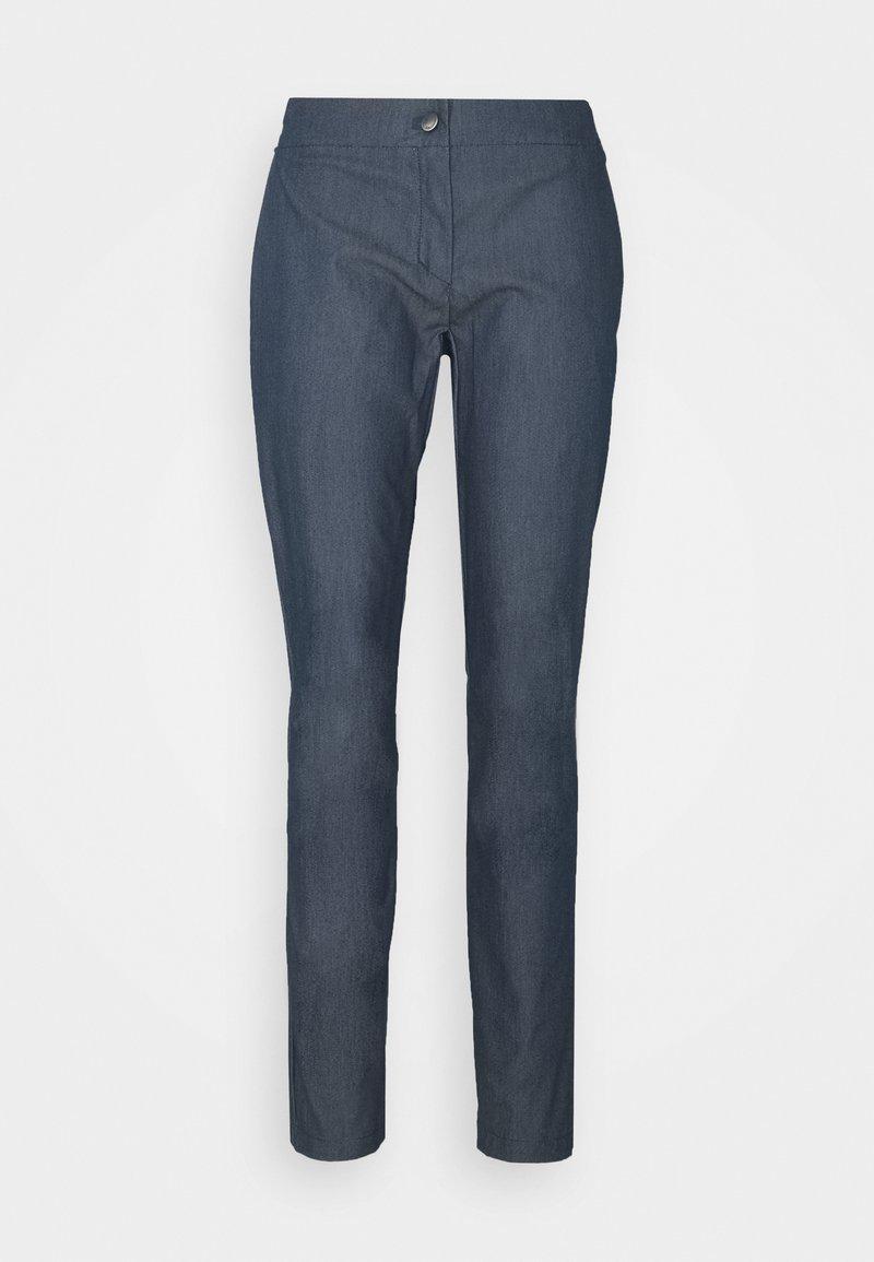 Salomon - WAYFARER TAPERED - Outdoorové kalhoty - mood indigo