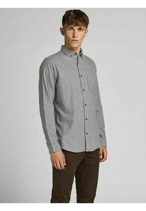 JJECLASSIC HEATHER STS - Formal shirt - light grey melange
