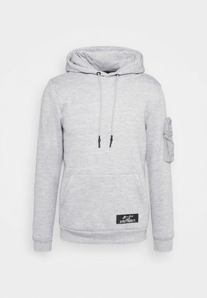 HOUDINI - Hoodie - light grey marl/light grey