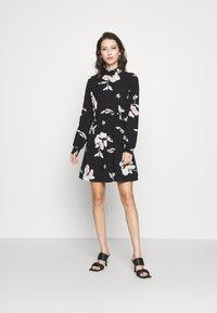 ONLY - ONLWINNER HIGHNECK DRESS - Day dress - black - 0