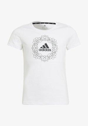 G GFX  1 - Print T-shirt - white