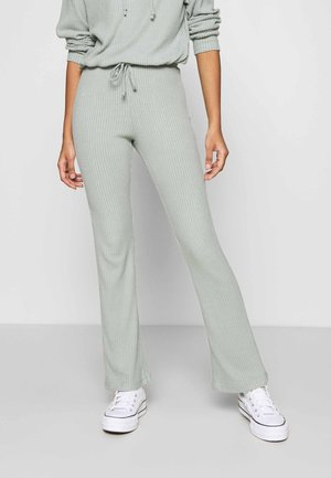 STINA TROUSERS - Bukse - iceberg green