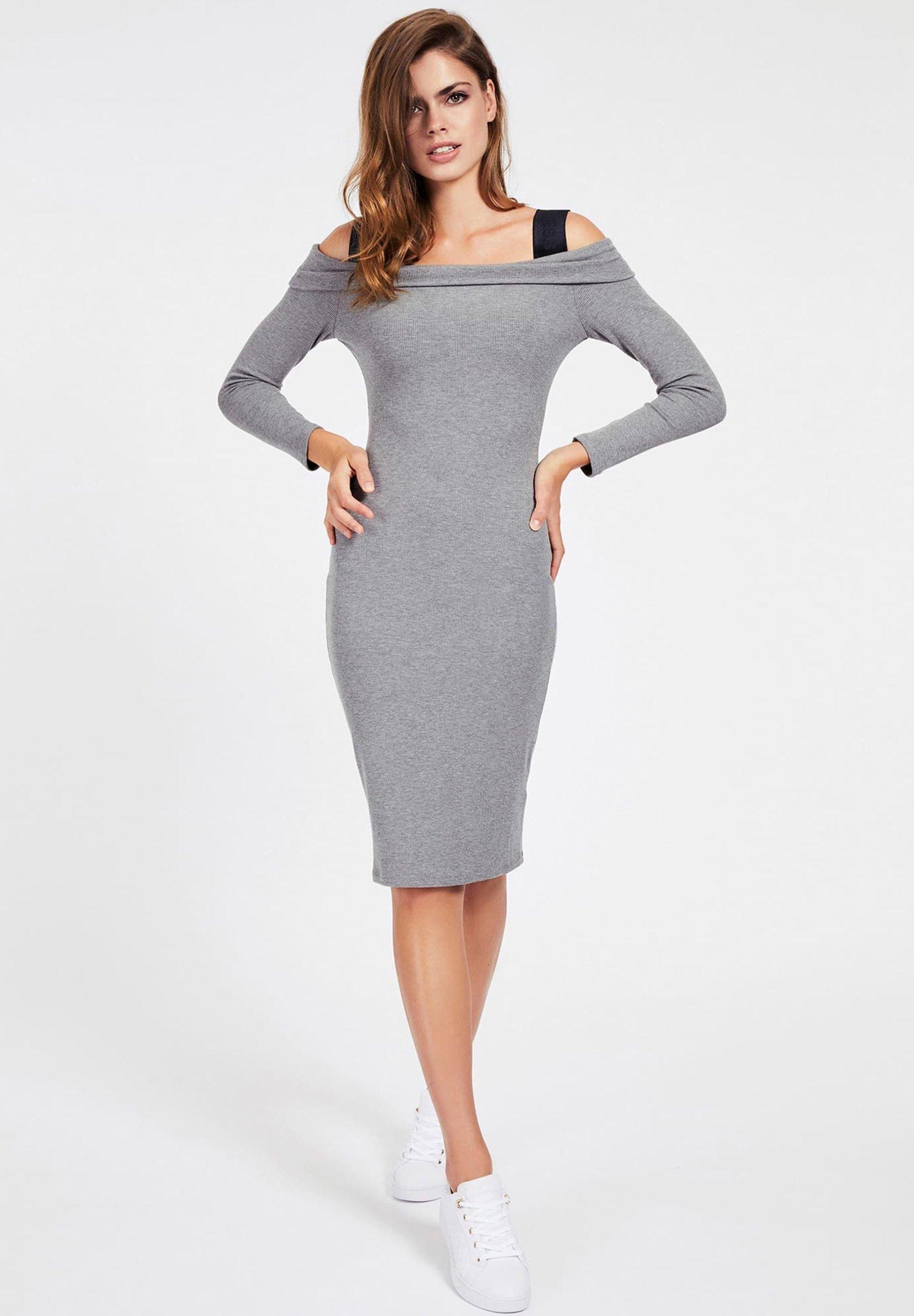 Guess FABIANA  - Robe fourreau - gris - Robes femme dzHPB