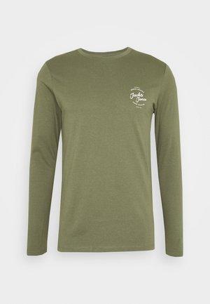JJHERO TEE  - Camiseta de manga larga - dusty olive